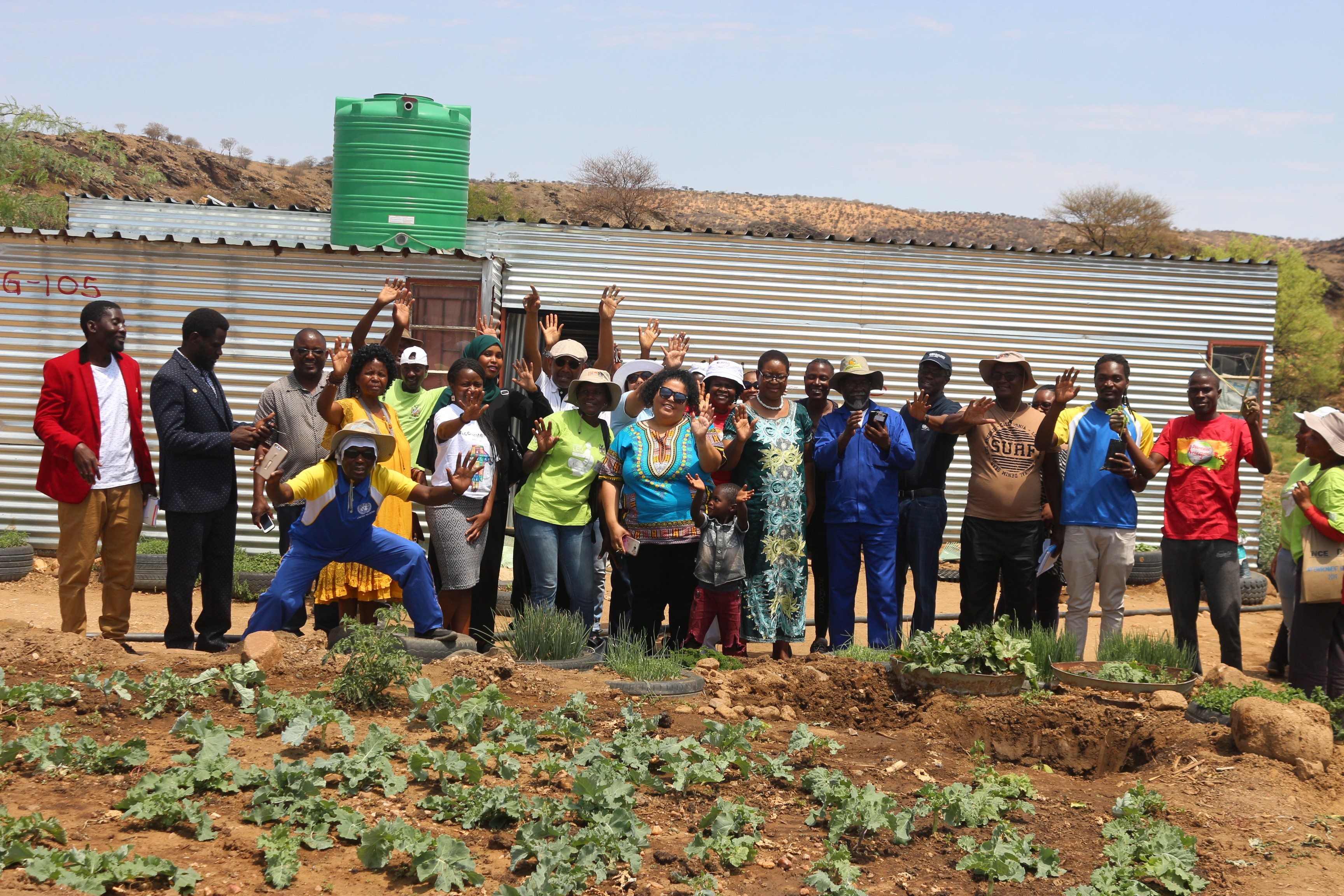 Tree planting to mark UN Day