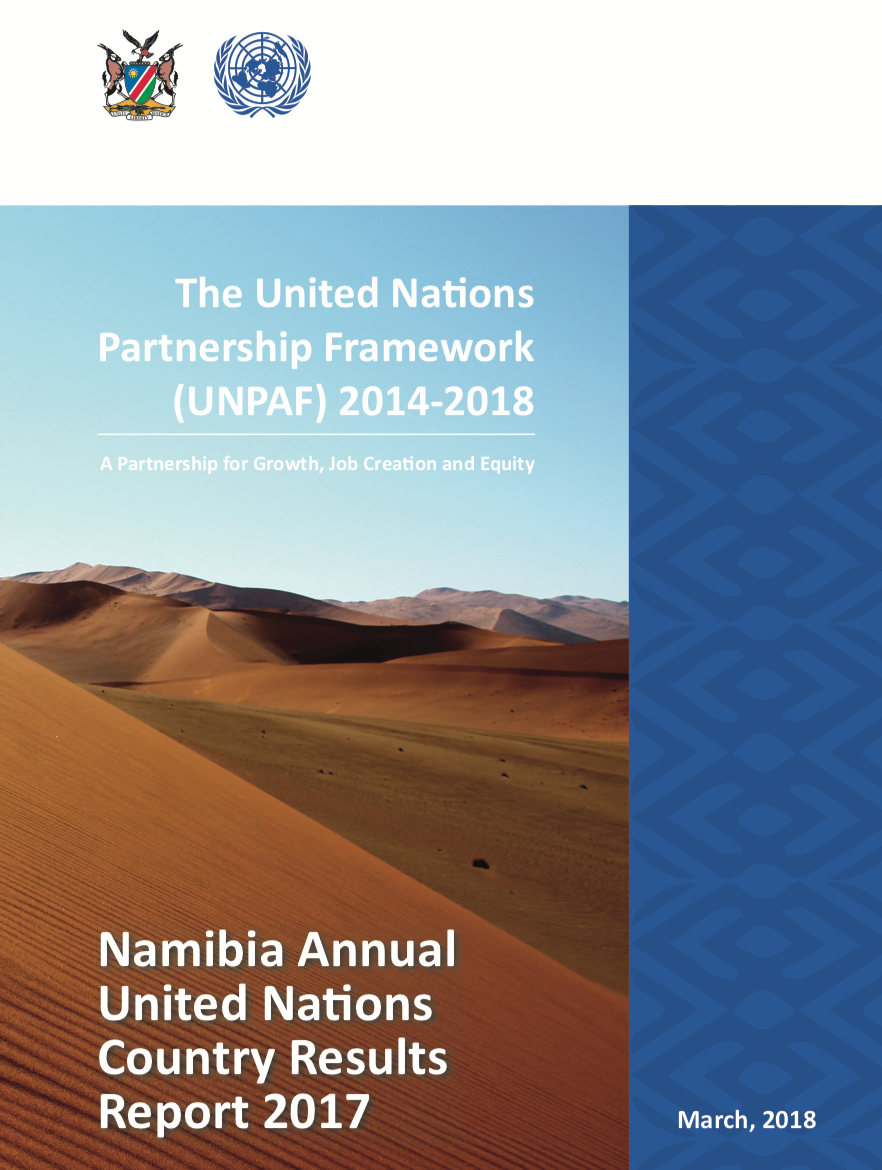 Namibia Annual United Nations Country Results Report 2017