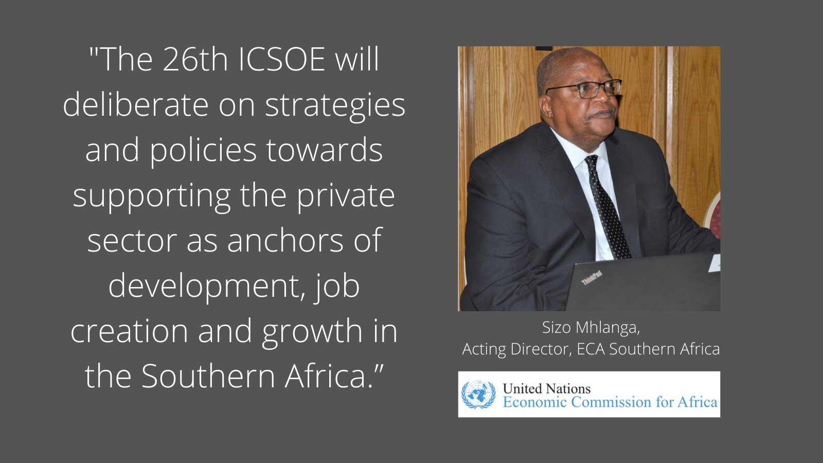 The 26th ICSOE Meeting of Southern Africa Elects a New Bureau
