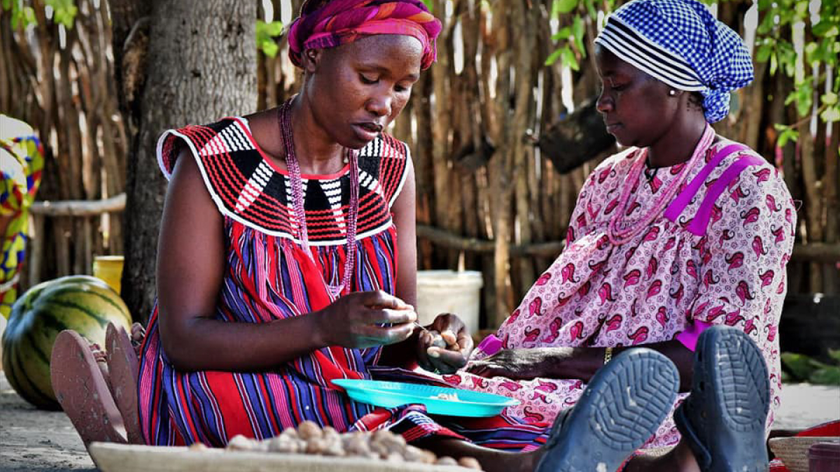 Women in rural Namibia profit from biodiversity-friendly trade