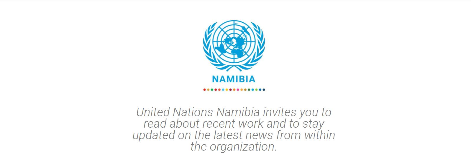 Subscribe to UN Namibia Newsletter
