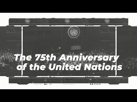 The 75th UN General Assembly Teaser