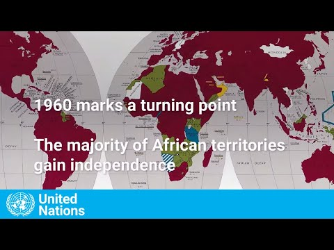 """60  Years of Independence - a Wave of Independence Spread Across Africa:"""""""