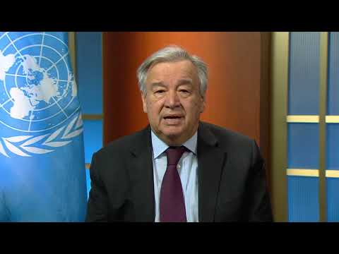 Video Message by the UN Secretary General on Women and COVID