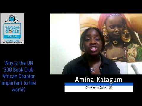 UN SDG Book Club African Chapter interview with Amina Katagum
