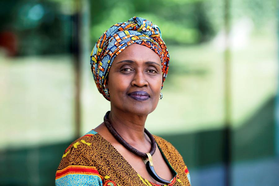 UNAIDS Executive Director, Winnie Byanyima
