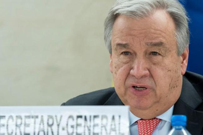 BY ANTÓNIO GUTERRES