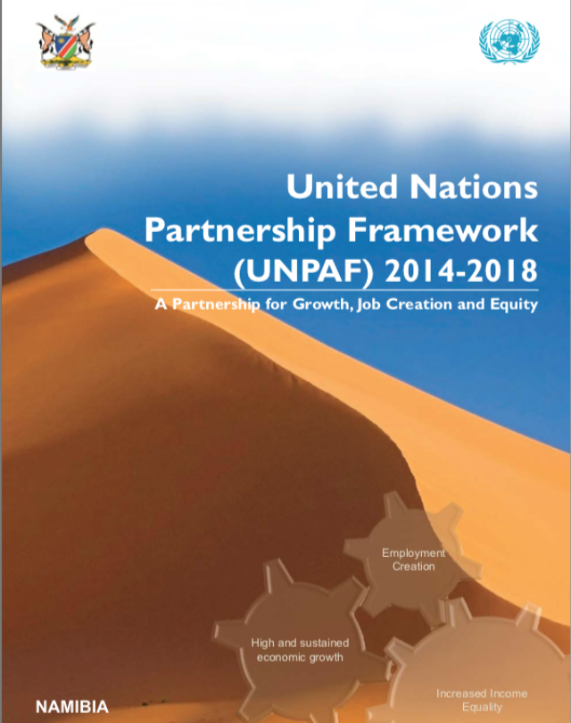 United Nations Partnership Framework (UNPAF) 2014-2018